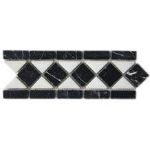 Marble Border White and Black, Mugla White ,Toros Black Marble