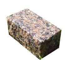 Granite Mezhirichinskij Multicolor Cube, Mezhyritske Red Granite