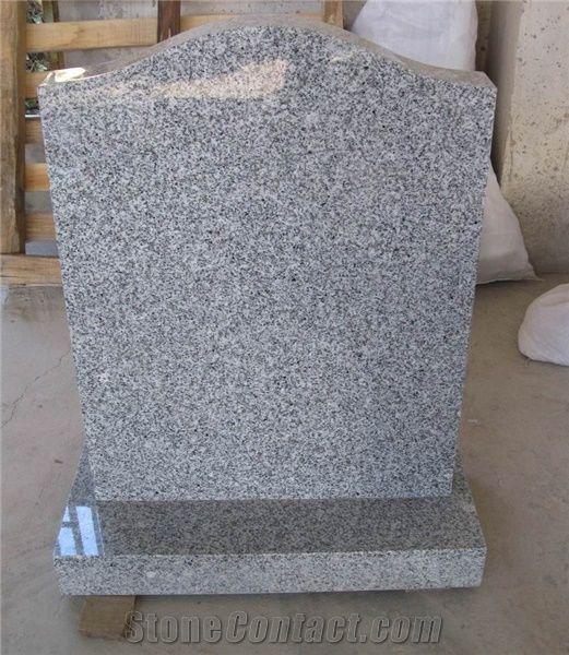 China Silver Grey Grave Marker Headstone T Grey Granite