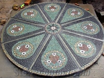 Pebble Stone Mosaic Pattern From China Stonecontact Com
