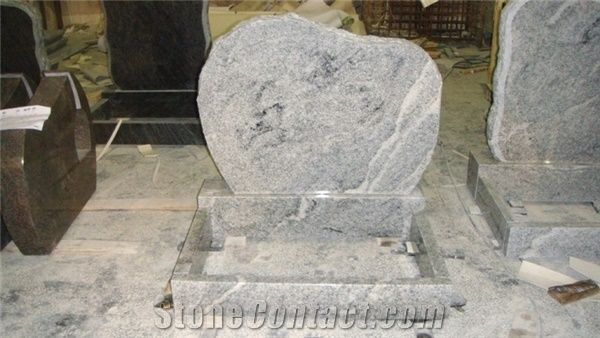Viscount White Granite Tombstone From China Stonecontact Com