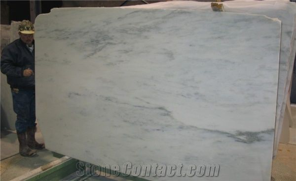 Olympian White Danby United States White Marble Slabs