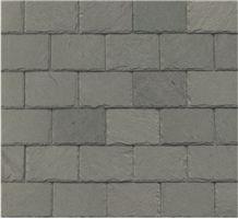 Semi-Weathering Grey - Green, Grey Slate Roof Tiles