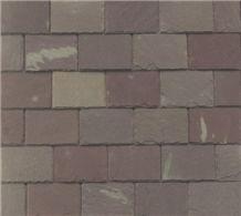 Variegated Purple Slate Roof Tiles, Lilac Slate Roof Tiles