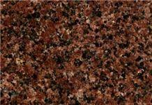 Korday - Kurday Dark, Kazakhstan Red Granite Slabs & Tiles