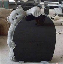 Hebei Black Granite Tombstone