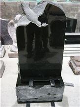 Grave Tombstones, China Black Granite Tombstones