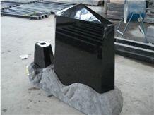 Iran Style Black Monument, Shanxi Black Granite Monument