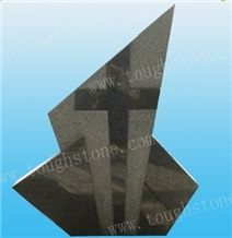 Cross Carving Monument/tombstone/headstone, G654 Grey Granite Headstone