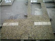 Giallo Venus Countertop Granite Kitchen Top, Yellow Granite