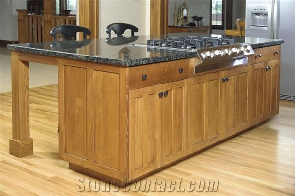 Custom granite kitchen islandstop for sale black granite for Custom kitchen island for sale