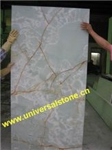 Backlit White Onyx Bar Tops from China - StoneContact.com