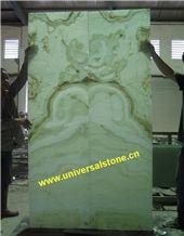 Green Jade Onyx Glass (J058)
