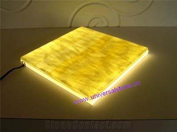 Led Lighting Honey Onyx Panel From China Stonecontact Com