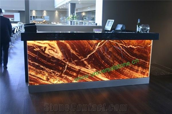 Translucent Red Onyx Glass Countertops Z 27 From China