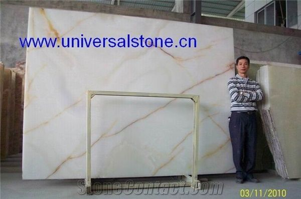 Translucent White Onyx Glass Bar Top from China-179585 ...