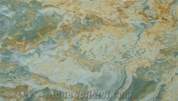Iran Blue Onyx Slabs Tiles From Germany 179514