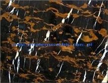 Black Gold Marble - Michaelangelo Tiles