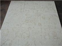 Shells Reef (white), White Limestone Slabs