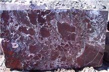 Elazig Visne (Rosso Levanto), Elazig Cherry Marble Block