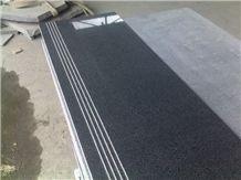 G654 Granite Stairs and Steps, G654 Black Granite Stairs