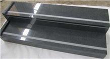 G654 Granite Steps,g654 Granite Stairs, G654 Grey Granite Stairs