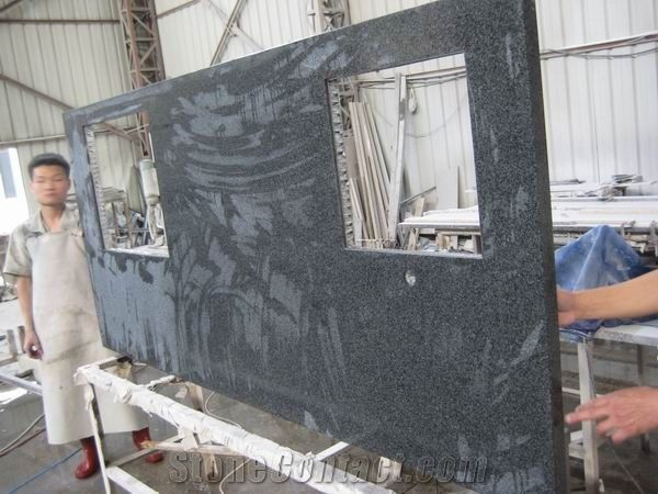 G654 Grey Granite Countertops, G654 Black Granite Countertops from ...