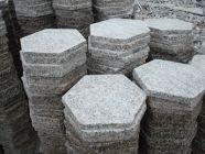 Granite Hexagon Tiles, Natural Grey Granite Pavers