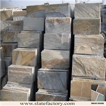 Beige Slate Floor