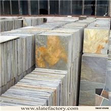 Chinese Multicolor Slate Tile for Flooring