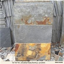 Chinese Multicolor Slate Tile for Wall Panel