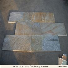 Gold Quartzite Tile, China Yellow Quartzite