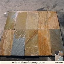 Quartzite Floor Tiles, Yellow Quartzite Tiles