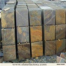 Yi Country Natural Slate Tiles, Rust Slate Tiles