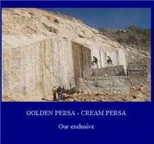 Golden Persa Blocks - Giallo Palmeiras, Golden Persa Granite Block