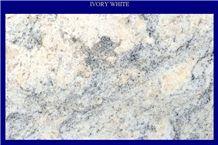 Ivory White Granite Slabs, Nigeria White Granite