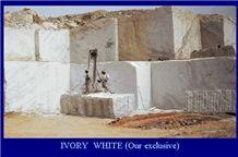 Nigeria Ivory White Blocks, Nigeria White Granite