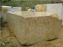 Giallo Reale Marble Blocks (Yellow Real)