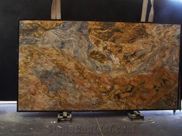 Brazil Fusion Granite Slab High Polished From China