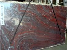 Brazil Iron Red Granite Slab(own Factory)