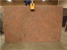 Brazil Red Malibu Granite Slab(own Factory)