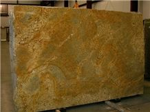 Brazil Yellow River Granite Slab(own Factory)