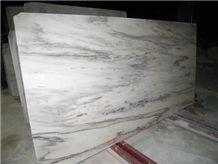 China Danba White Marble Slab(good Polished)