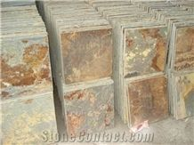 China Rust Slate Tiles(Own Factory)