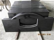 Chinese Hebei Black Granite Bath Countertop (own F