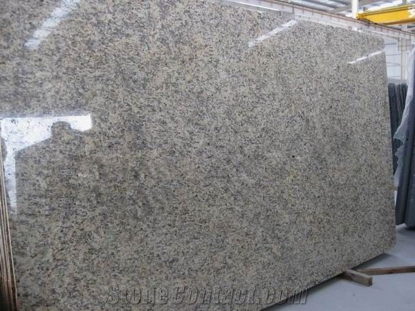 Giallo Santa Cecilia Granite Slab Good Price