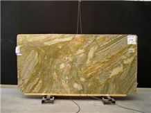 Polished Golden Cobra Marble Slab(good Quality)