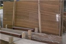 Polished Golden Wood Vein Marble(good Quality)