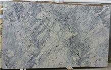 Polished Ice White Granite Slab(own Factory)