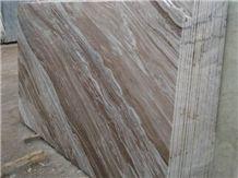 Polished Toronto Brown Marble Slab(good Thickness)